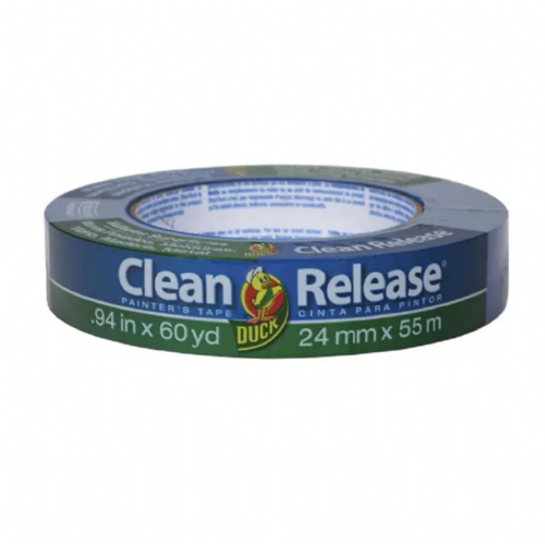 Shurtape 240193 Duck Tape Clean Release Masking Tape 24mm x 55m